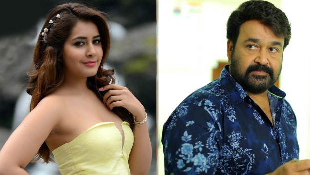 rashi khanna as villain role in mohanlal unnikrishnan movie