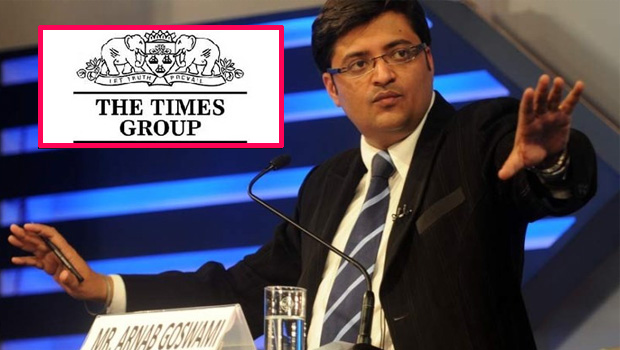 Times Group sends legal notice to Arnab goswami