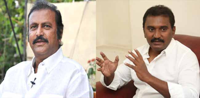Mohan Babu wants To Look Younger In The Movie